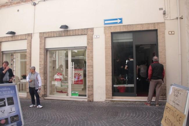 I quartier generali di Maria Francesca Tardella e Anna Menghi in corso Matteotti