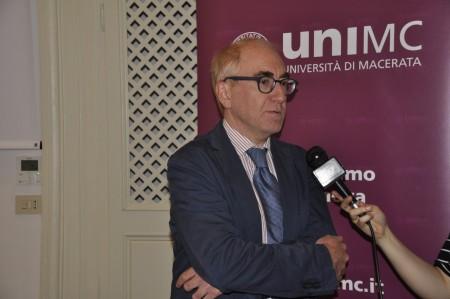 Il rettore di Unimc Luigi Lacchè