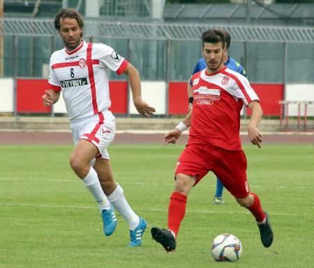 Lorenzo De Grazia con la maglia della Maceratese nella stagione 2014/15