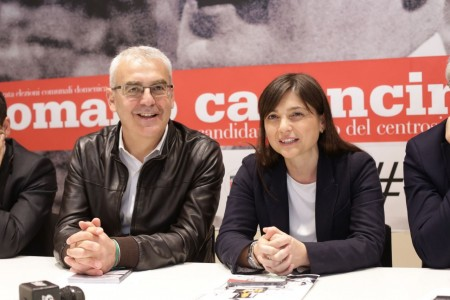Debora Serracchiani conferenza carancini 5