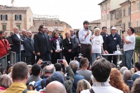 Di Battista Movimento 5 stelle piazza Mazzini 16