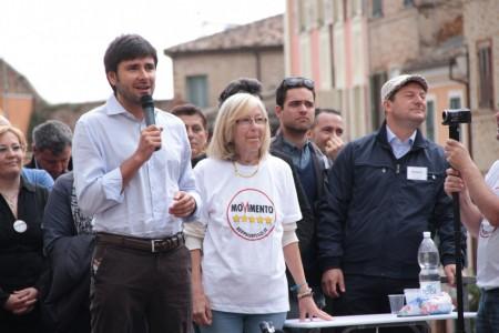 Di Battista Movimento 5 stelle piazza Mazzini 17