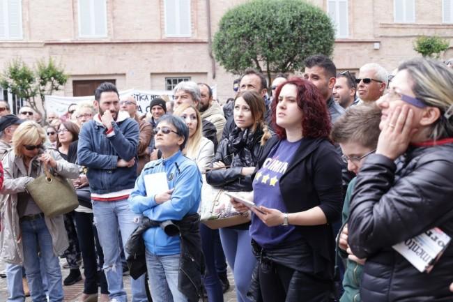 Di Battista Movimento 5 stelle piazza Mazzini 20