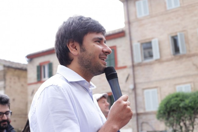 Di Battista Movimento 5 stelle piazza Mazzini 23