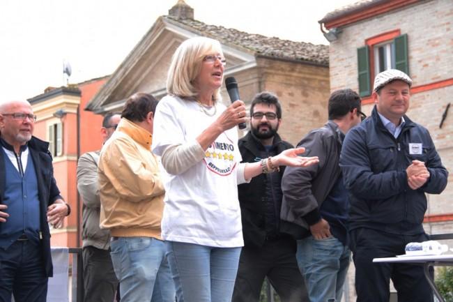 Di Battista Movimento 5 stelle piazza Mazzini Carla Messi 7