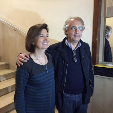 Eugenia Roccella con Francesco Massi