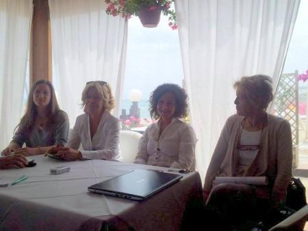 Elena Leonardi, Rosalba Ubaldi, Angelica Sabbatini e Pina Citaroni.