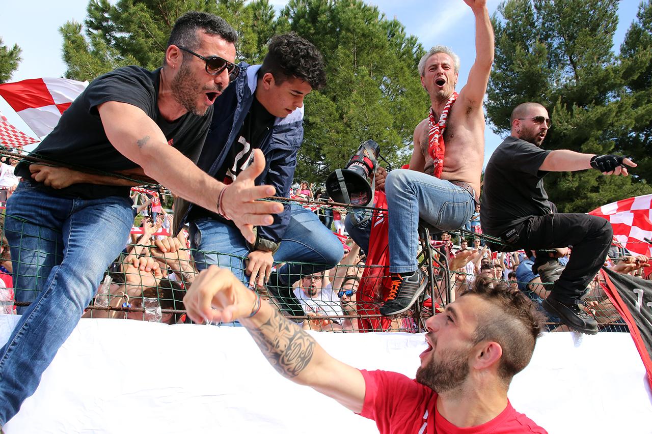Festeggiamenti Maceratese Lega Pro_Foto LB (13)