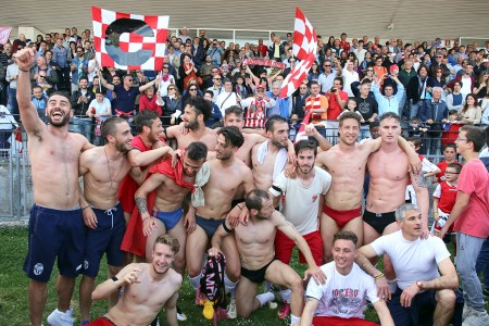 Festeggiamenti Maceratese Lega Pro_Foto LB (23)