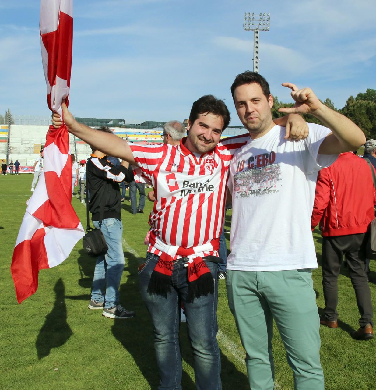 Festeggiamenti Maceratese Lega Pro_Foto LB (4)