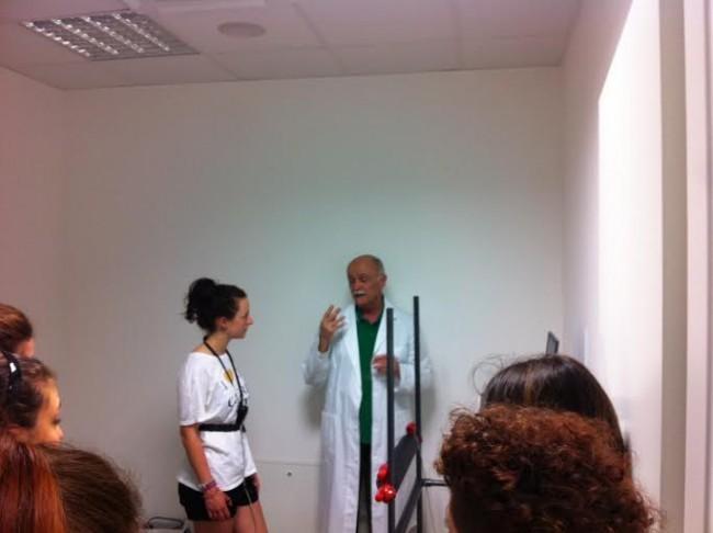 Il dottor Tommaso Ferretti del centro Fisio Sport