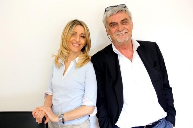 Franecsca D'Alessandro e Maurizio Mosca