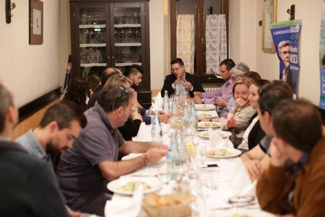 Fratelli d'Italia cena da Rosa 6