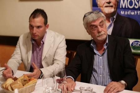 Fratelli d'Italia cena da Rosa Maurizio Mosca 1
