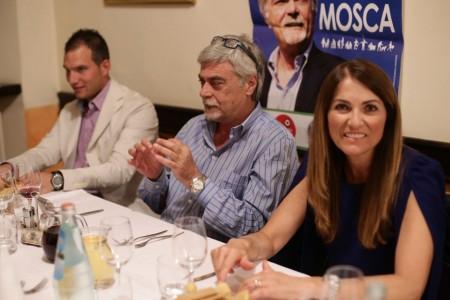 Fratelli d'Italia cena da Rosa Maurizio Mosca 4
