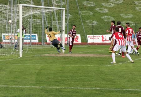 Kouko segna il gol della vittoria
