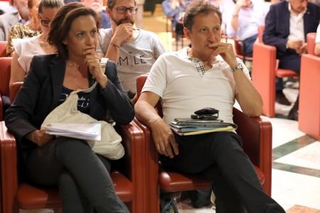 Silvana Lisi e Stefano Palmucci