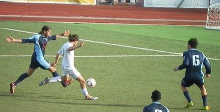 Tommaso Marolda in gol per il pareggio della Recanatese