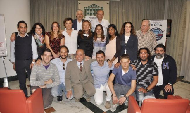 Foto di gruppo dei candidati