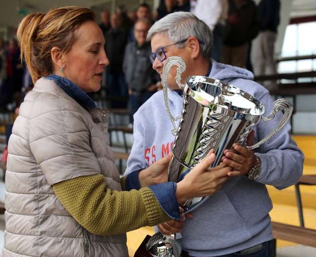 Deborah Pantana e Maria Francesca Tardella anche oggi insieme allo stadio Helvia Recina per la partita della Maceratese