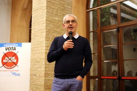 Il sindaco uscente Romano Carancini