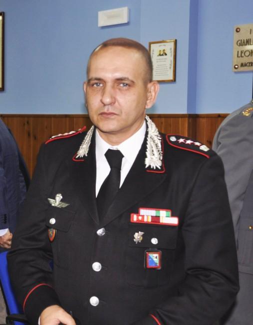 Stefano Di Iulio, comandante provinciale dei carabinieri