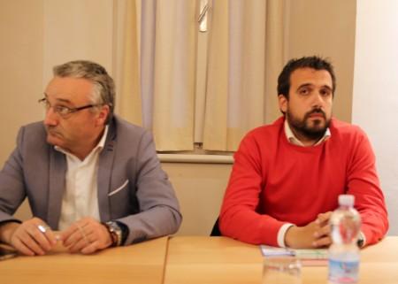 Angelo Sciapichetti e Maurizio Saiu