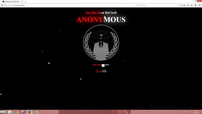 Ecco come appare l'albo pretorio online del comune di Macerata