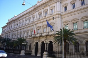 La sede di Banca d'Italia a Roma