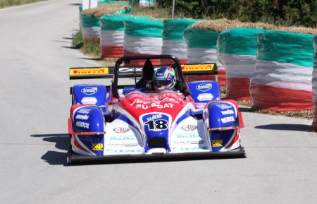 Simone Faggioli ha vinto il 25° Trofeo Scarfiotti