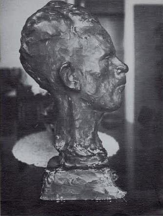 Il busto di Giuseppe De Angelis