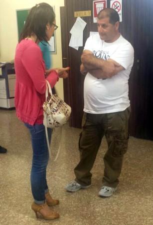 L'arrestato Angelo Marasciulo con l'avvocato Ilenia Catalini