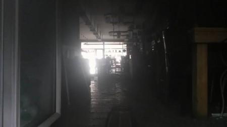 ROGO AL DOLCE&CO - L'interno del locale andato a fuoco