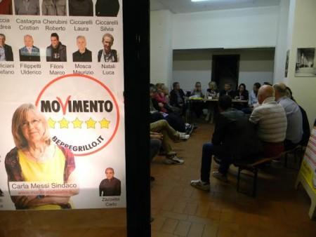 La nuova sede elettorale in corso Cavour