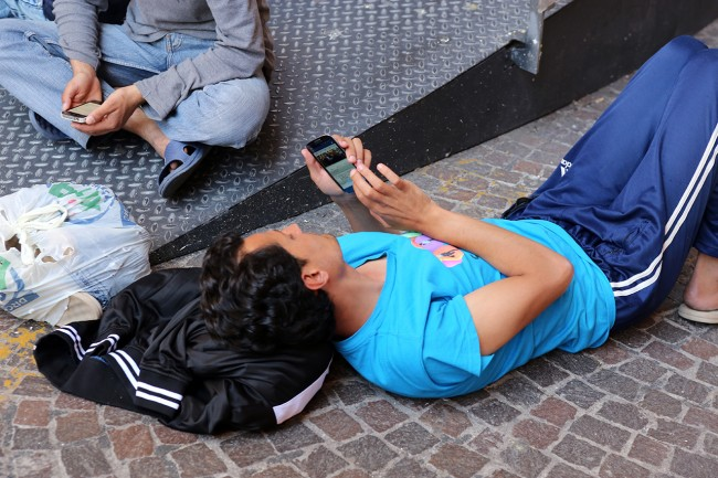 Afghani da Loro Piceno a Macerata foto LB (17)