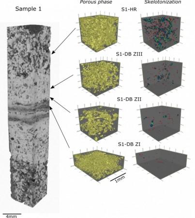 Analisi al SIncrotone di Trieste di strutture in rocce serbatoio