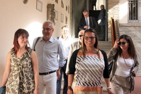 Assessori nuova giunta Carancini_Foto LB (2)