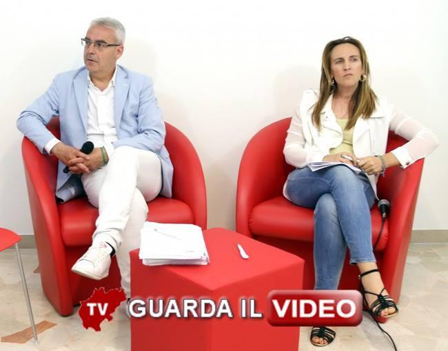 Romano Carancini e Deborah Pantana  (Clicca sull'immagine per guardare il video)