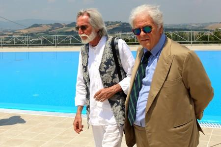Alfredo Cacchiarelli con Piero Cesanelli