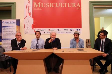 Carancini, Vignola, Cesanelli, Dottori, Frizzi Musicultura 2015 foto LB