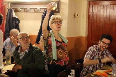 LA MOGLIE Betty Torresi in festa