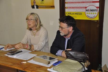 conferenza movimento 5 stelle Messi-Storani 4