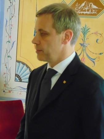 Il presidente di Confindustria Macerata, Giovanni Clementoni