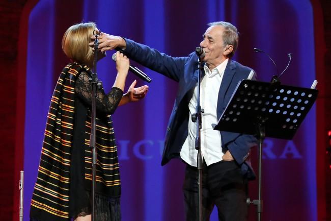 Francesca Prestia e Roberto Vecchioni Musicultura 2015 foto LB
