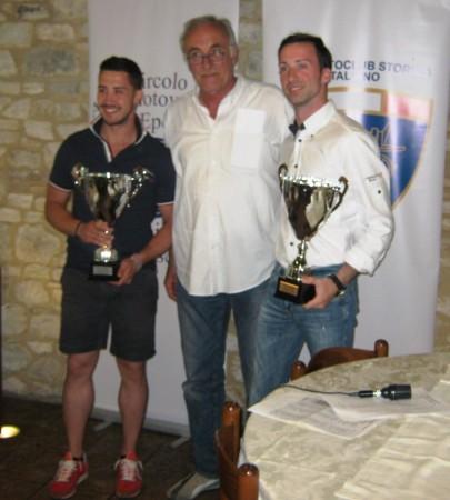 I vincitori Gaggioli e Pierini