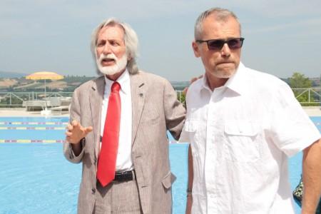 Alfonso Cacchiarelli con Mirko Santoni