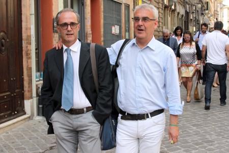 Marco Iesari e Romano Carancini_Foto LB