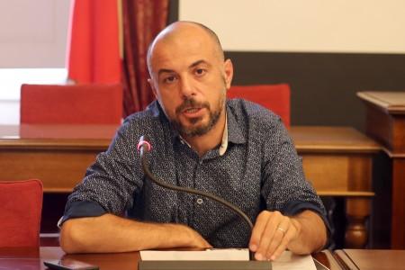 Il presidente provinciale dell'Arci, Matteo Petracci
