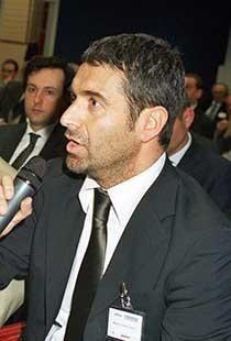 Il nuovo amministratore delegato della Maceratese Marco Nacciarriti