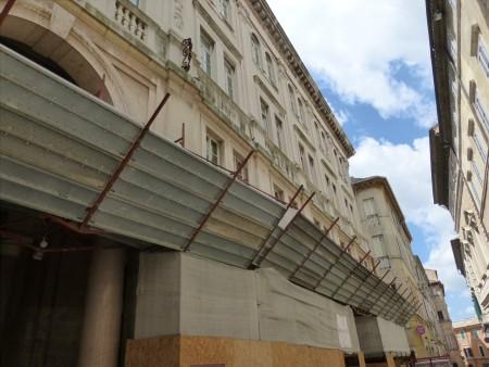Palazzo degli studi con impalcatura (8)